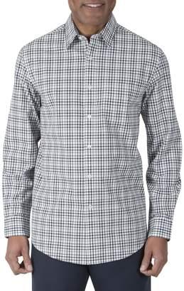 Haggar Heritage Long Sleeve Cotton Plaid Shirt