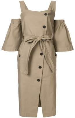 Ports Pure buttoned midi dress