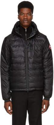 Canada Goose Black Lodge Hooded Jacket