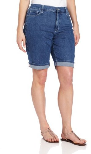 NYDJ Women's Plus-Size Nicolette Short