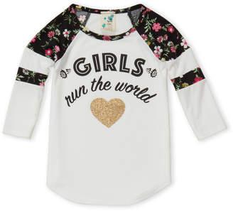 Lily Bleu (Girls 4-6x) Girls Run The World Long Sleeve Tee