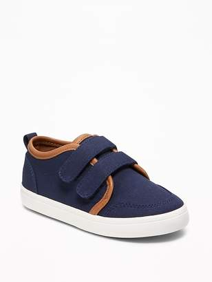 Old Navy Secure-Strap Canvas Sneakers for Toddler Boys