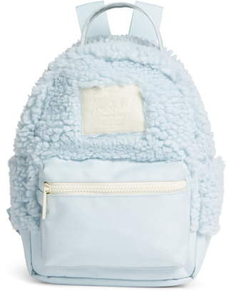 Herschel Mini Nova Fleece & Canvas Backpack