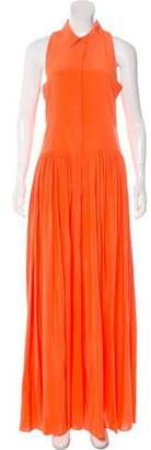 Yigal Azrouel Cut25 by Silk Maxi Dress