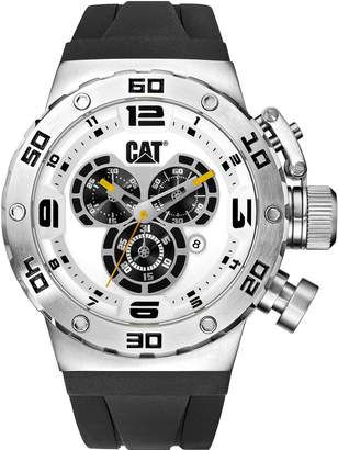 Caterpillar CAT DS49 Men's Chronograph Watch Dial Silicone Strap DS14321221