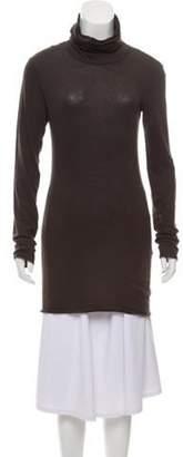 Ter Et Bantine Lightweight Turtleneck Sweater Brown Lightweight Turtleneck Sweater