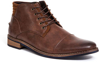 Deer Stags Mens Rhodes Chukka Boots Block Heel Lace-up