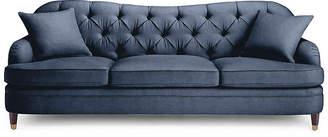 Kate Spade Drake Tufted Sofa - Indigo