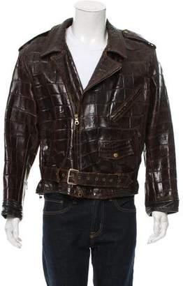 Jitrois Alligator Moto Jacket