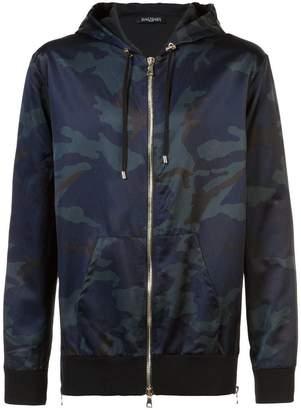 Balmain camouflage hoodie