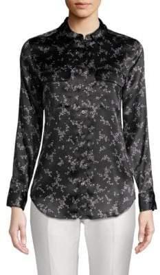 Equipment Slim Signature Floral Silk Shirt