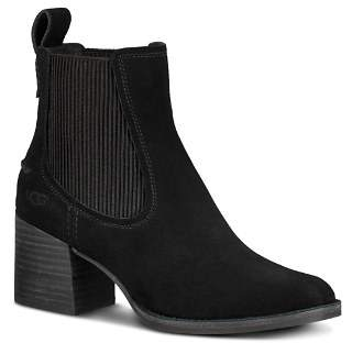 Free Shipping $150 at Bloomingdale's · UGG Women's Faye Round Toe Suede Mid-Heel Booties