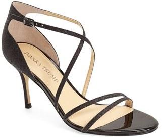 Ivanka Trump 'Garis' Glitter Sandal (Women) $119.95 thestylecure.com