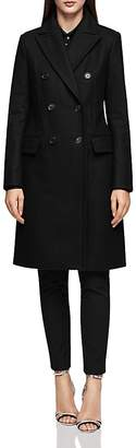 Reiss Betty Double-Breasted Military-Style Coat