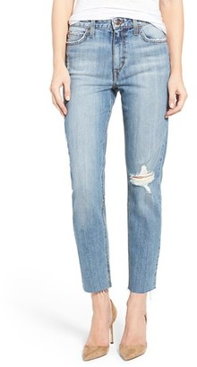 Women's Joe's Debbie High Rise Distressed Boyfriend Jeans $179 thestylecure.com