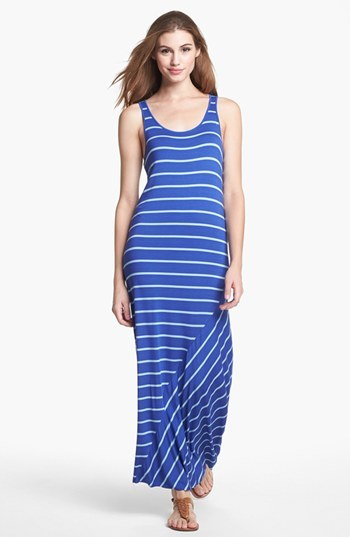 Kensie Stripe Maxi Dress