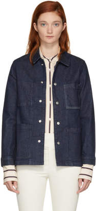 Rag & Bone Blue Denim Henri Jacket