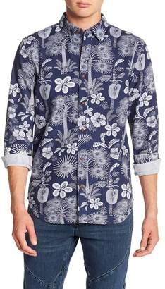 Scotch & Soda Summer Indigo Classic Fit Shirt