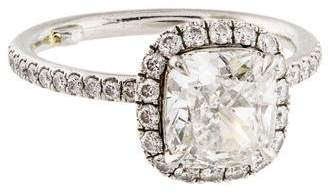 Harry Winston Platinum 1.81ct Diamond Engagement Ring