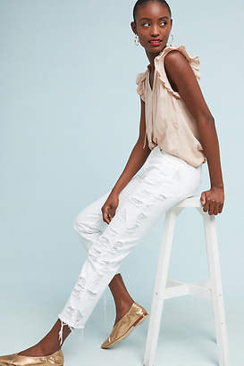 3x1 W3 Higher Ground Distressed Cropped Jeans