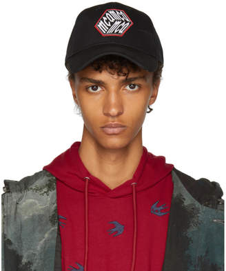 McQ Black Trucker Cap
