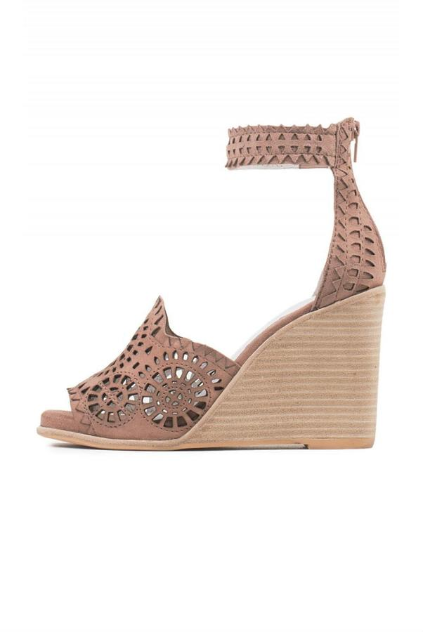 Jeffrey Campbell Jeffrey Campbell Lasercut Wedge