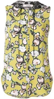 Schumacher Dorothee daydream meadow blouse top