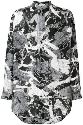 Saint Laurent Greek Fresco shirt