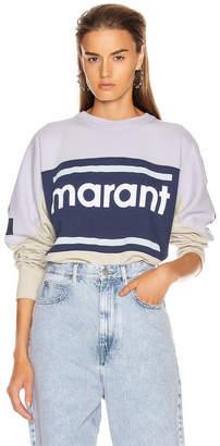 Etoile Isabel Marant Gallian Sweater in Light Blue | FWRD