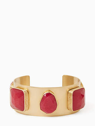 Kate Spade On the rocks five stone cuff