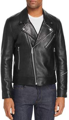 Paul Smith Leather Moto Jacket