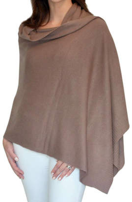 f1967940a Thomas Laboratories Mimi & cashmere & leather Mocha Personalised Pure  Cashmere Wrap Gift Boxed