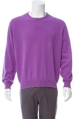 Borrelli Cashmere Crew Neck Sweater