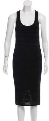 Rebecca Minkoff Open-Knit Midi Dress