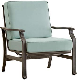 Inspire Q Rancho Sierra Aluminum Patio Club Chair With Cushions