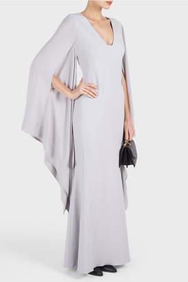 Antonio Berardi Marilena Kimono Sleeve Gown