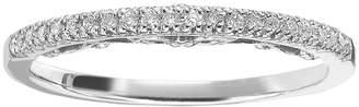 Vera Wang Simply Vera 14k White Gold 1/10-ct. T.W. Diamond Wedding Ring