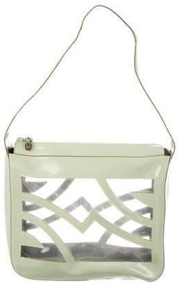 Salvatore Ferragamo PVC Cutout Shoulder Bag