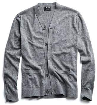 Todd Snyder Cotton Cardigan in Salt and Pepper