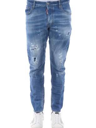 DSQUARED2 Spray Tidy Biker Jeans
