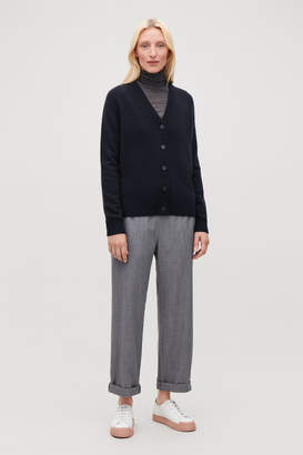 Cos RELAXED CASHMERE CARDIGAN