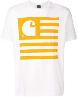 Junya Watanabe MAN Comme Des Garcons Man x Carhatt printed T-shirt