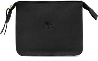 Il Bisonte Leather Cosmetics Case, Black