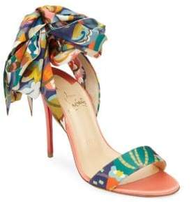 Christian Louboutin Sandale Floral Sandals