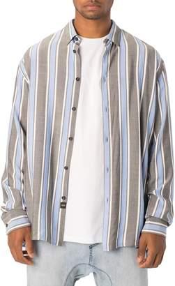 Zanerobe Oversize Stripe Sport Shirt
