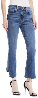 Hudson Holly High-Rise Cropped Kick-Flare Jeans