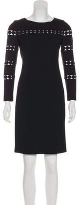 Akris Punto Long Sleeve Wool Dress