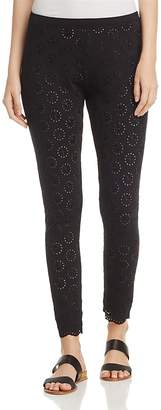 Johnny Was Eyelet Leggings $122 thestylecure.com
