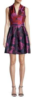 Vince Camuto Floral Fit-&-Flare Dress