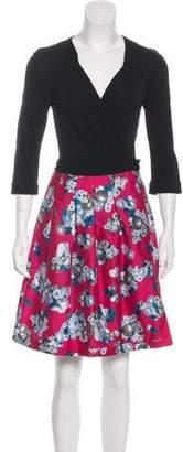 Diane von Furstenberg Jewel Wool & Silk-Blend Dress w/ Tags